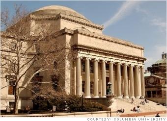 哥伦比亚大学的哥伦比亚学院(图片由哥伦比亚大学提供)