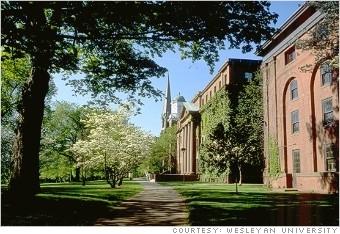卫斯理大学(图片由卫斯理大学提供)
