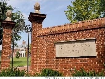 约翰霍普金斯大学(图片由约翰霍普金斯大学提供)
