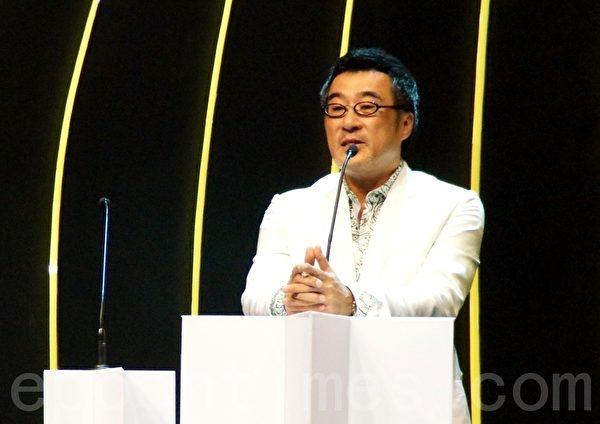 近年已鮮少現身頒獎禮的李宗盛,難得出席了這次的娛協獎頒獎禮。(攝影:楊曉慧/大紀元)