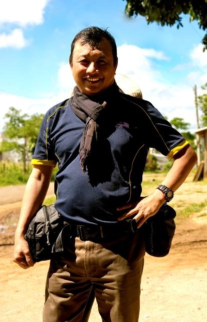 """风光自然类铜奖作品《渔夫》得主苏玮岷说:""""大会以传统手法要传递健康向上的信息,我认为就是让摄影创作者用心品尝照片中的含义。""""(图/苏玮岷提供)"""