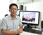 """来自香港的余钢赢得本届新唐人""""全球华人摄影作品大奖赛""""新闻纪实类金奖。(摄影:李真/大纪元)"""
