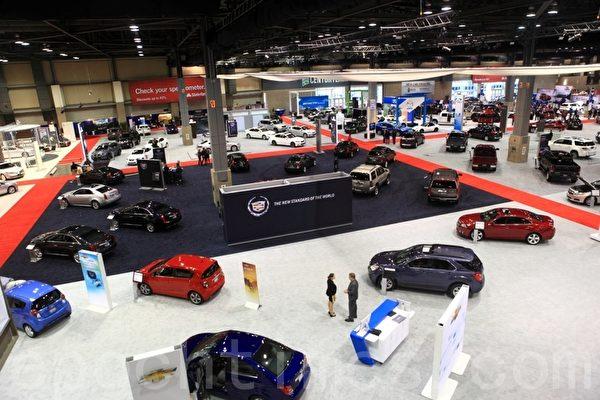 2012年西雅图车展在西雅图市中心的Centurylink Field Event Center开展 (摄影:David/大纪元)