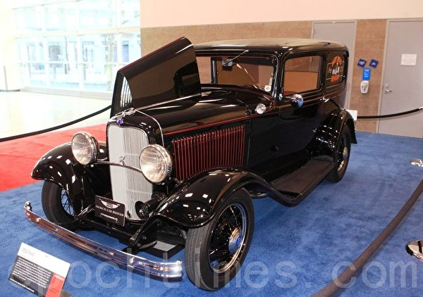 1932年款Ford老爷车(摄影:David/大纪元)