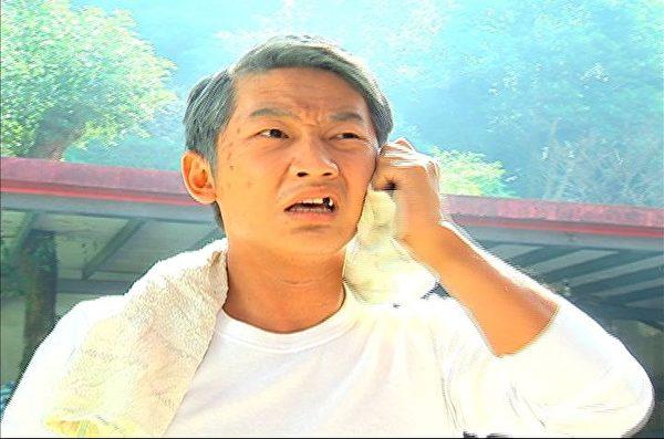 蔡昌憲首次客串八點檔,卻扮老妝,笑說看到自己未來老年樣。(圖/三立提供)