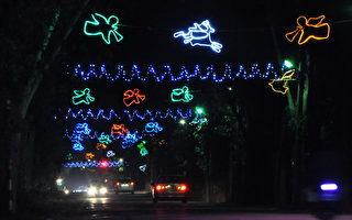 屏東萬金 閃亮燈飾迎接聖誕季