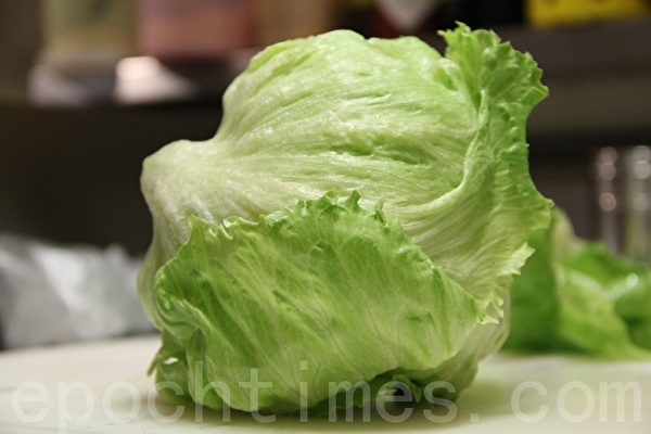 美生菜iced berg(摄影:ALEX/大纪元)
