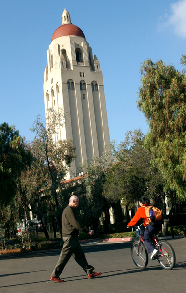 斯坦福大学(Stanford University)MBA项目以18.5万美元成为全球最贵的MBA项目。 (Justin Sullivan/Getty Images)