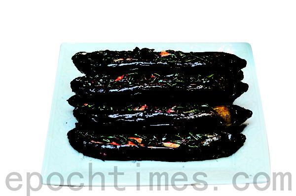 茄子泡菜 (摄影:李裕贞/大纪元)