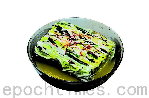 白泡菜 (摄影:李裕贞/大纪元)