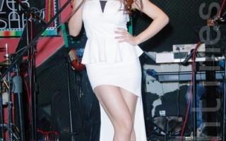 唱歌仍是郭书瑶最喜欢开心的事,她透露为了准备这场的音乐会已失眠好几晚。(摄影:黄宗茂/大纪元)