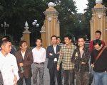 廣州民主人士2012年12月16日下午在人民公園聚會。(當事人提供)