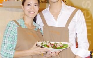 Janet与丁春诚展厨艺 互夸可主持台版厨神