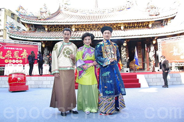 (左起)翁家明、陈亚兰、崔浩然。(摄影:黄宗茂/大纪元)