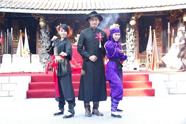 剧组演员。(摄影:黄宗茂/大纪元)