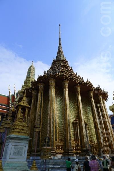 泰国曼谷大皇宫玉佛寺(摄影:姜斌/大纪元)