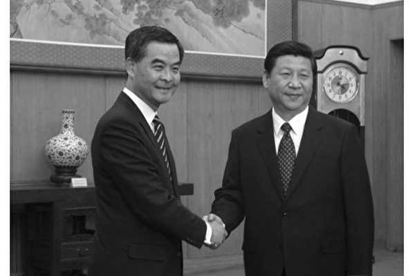 梁振英上京述職遭習近平警告「按基本法施政」