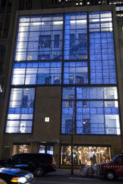 纽约麦迪逊大道  圣诞橱窗秀(摄影:戴兵/大纪元)
