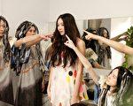 歌壇新人Aggie謝沛恩,拍攝新歌《獨一無二的女孩》MV。(圖/福茂提供)