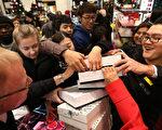 組圖:英國節禮日促銷引數千民眾瘋狂購物