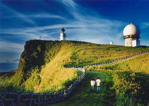 蕭金榮的「三貂角燈塔之美」獲金牌獎。(陽明海運提供)