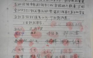 北川羌族自治县桂溪乡杜家坝的部分村民向纪检,司法部门、媒体及社会公开如实反映村支书母广强的一些违纪、犯罪事实。(作者提供)