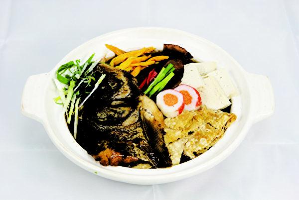 砂锅鲢鱼头(图:莱尔富提供)