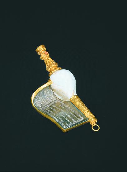 右旋白螺(图:故宫博物院提供)
