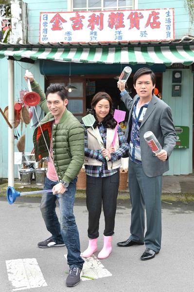 温昇豪饰演的冠军哥与谢欣颖饰演的金大花浪漫的约会是一大亮点。(图/台视提供)