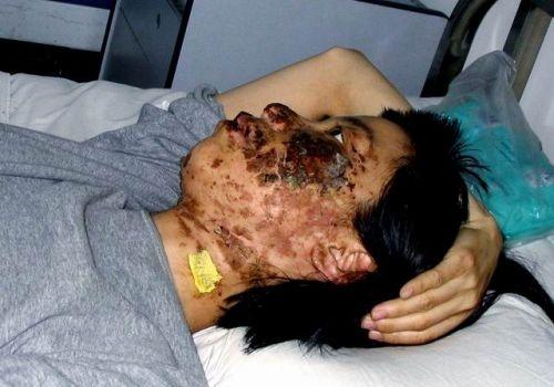 法轮功学员高蓉蓉被电击毁容后遭马三家虐杀(大纪元资料室)