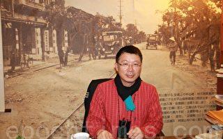 宜兰的文史工作者--庄文生老师。(摄影:谢月琴/大纪元)
