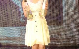 Kimberley香港獲三獎 登台狠摔含淚赤腳演唱