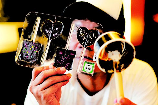 云庄梦想馆巧克力糖DIY(图:苗栗县政府国际文化观光局提供)