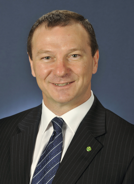 聯邦國會議員Graham Perrett MP。(大紀元)