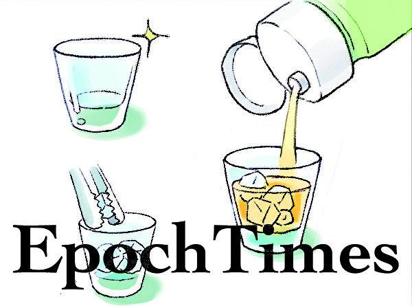 梅酒加冰以后,梅酒里的浓厚的香醇就更能散发的淋漓尽致了。(图:大纪元)