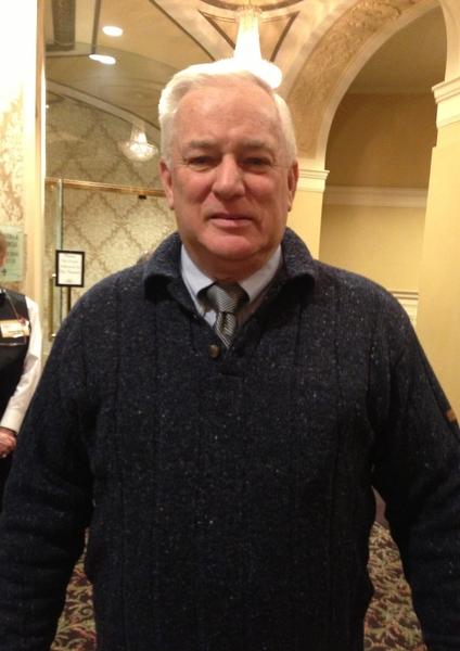 Mark Waine 退休前是麻州一警局副局长。他表示,晚会讲述中国古老历史和文化,还展现了当今现实,非常好!(摄影:秦紫寰∕大纪元)