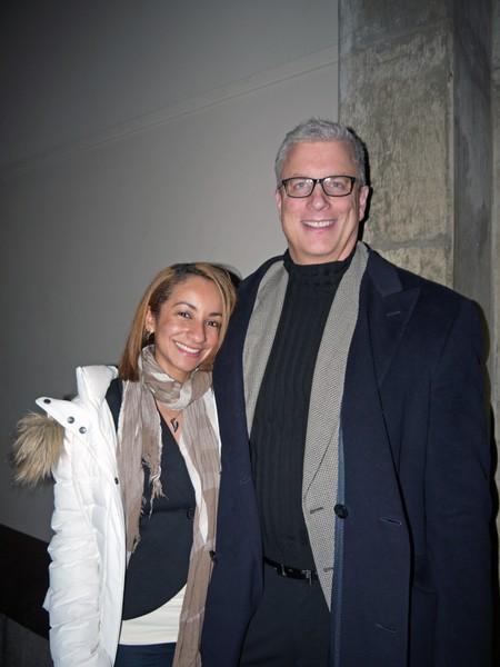 律师Timothy Rowe同太太共同观看了2013年2月6日晚在印第安纳波利斯的神韵晚会后,感叹中华文化之博大精深。(摄影:温文清/大纪元)