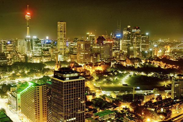 10日悉尼不夜城(伊罗逊摄影)
