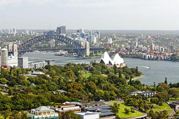 悉尼大桥歌剧院远眺(伊罗逊摄影)