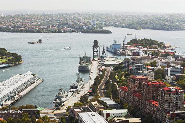 悉尼大桥及出海口码头(伊罗逊摄影)
