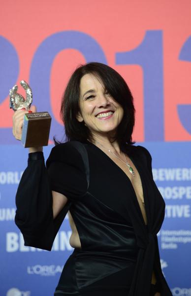 宝琳娜•加西亚(Paulina Garcia)获得最佳女演员奖。(JOHN MACDOUGALL/AFP/Getty Images)