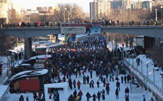 北美最大冰雪節吸引遊客六十萬 中國元素成亮點