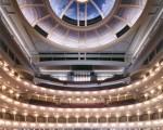美国德克萨斯州沃思堡(Fort Worth)市的Bass演艺厅(Bass Performance Hall)内景。(沃思堡市旅游观光局)