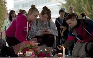 圖 :2012年10月15日,卑詩省的青少年一起悼念因不堪網絡霸凌而自殺的少女托德。(加通社)