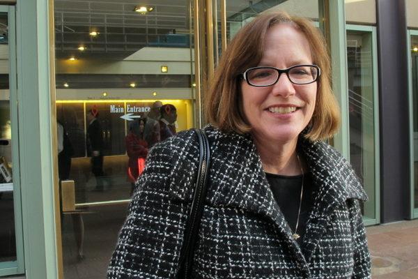 脑外科医生Kristin Mason表示演出的精神内涵超越她的期望(摄影:曾容格/大纪元
