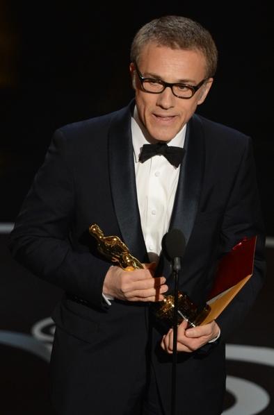 克里斯托夫·华尔兹荣获第85届奥斯卡最佳男配角奖。(图/ROBYN BECK/AFP/Getty Images)