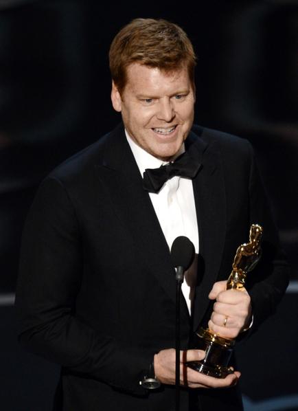 John Kahrs导演制作的动画短片《纸人》荣获最佳动画短片奖。(图/Kevin Winter/Getty Images)