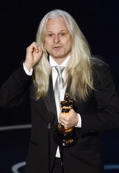 摄影师Claudio Miranda因《少年Pi》获得最佳摄影奖。(图/Kevin Winter/Getty Images)