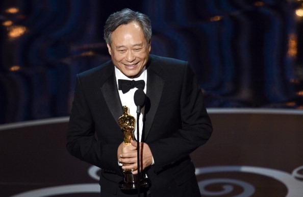 凭借《少年Pi》,台湾导演荣获本届奥斯卡的最佳导演奖。(图/Kevin Winter/Getty Images)