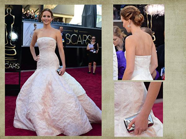 詹妮佛‧劳伦斯(Jennifer Lawrence)。(合成图片/取材自Getty Images)